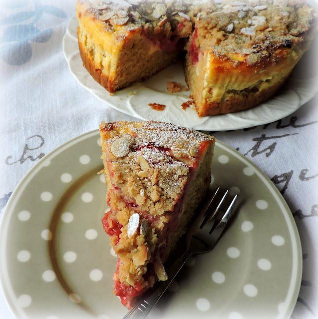 Raspberry Almond Breakfast Cake