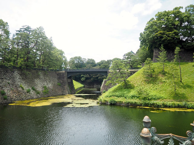 Nijubashi bridge outside the Imperial Palace, Tokyo, Japan