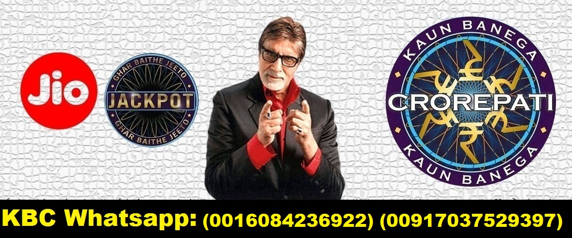 Jio KBC Whatsapp Online Lottery Winner Name Lottery Amount 2500000 Mobile Number KBC Lottery