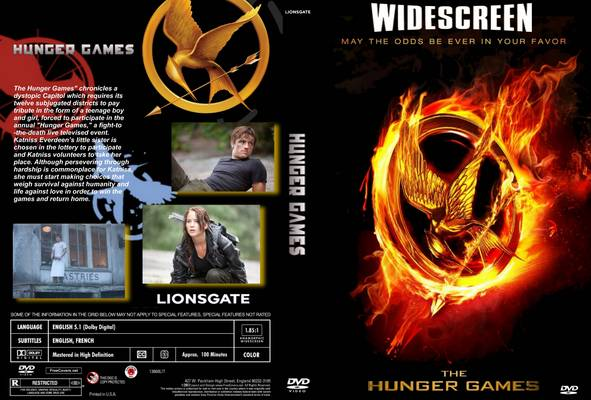 The Hunger Games DVD The Hunger Games 2012 movieloversreviews.filminspector.com