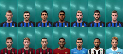 PES 6 Facepack Serie A by Editor PES6