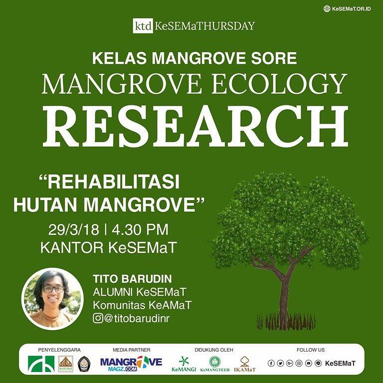 Bahas Rehabilitasi Mangrove, KTD Hadirkan KeAMaT