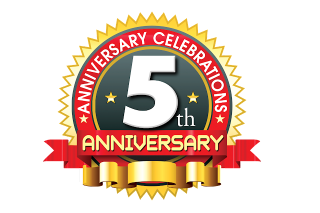 5th-anniversary-ping-logo-with-red-ribbon-psdfiles.in