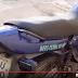 Moto abandonada, com placa de Varjota, é encontrada pela PM reriutabense em Reriutaba