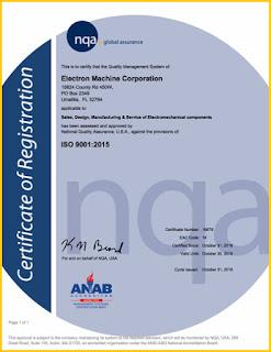 Electron Machine ISO 9001:2015