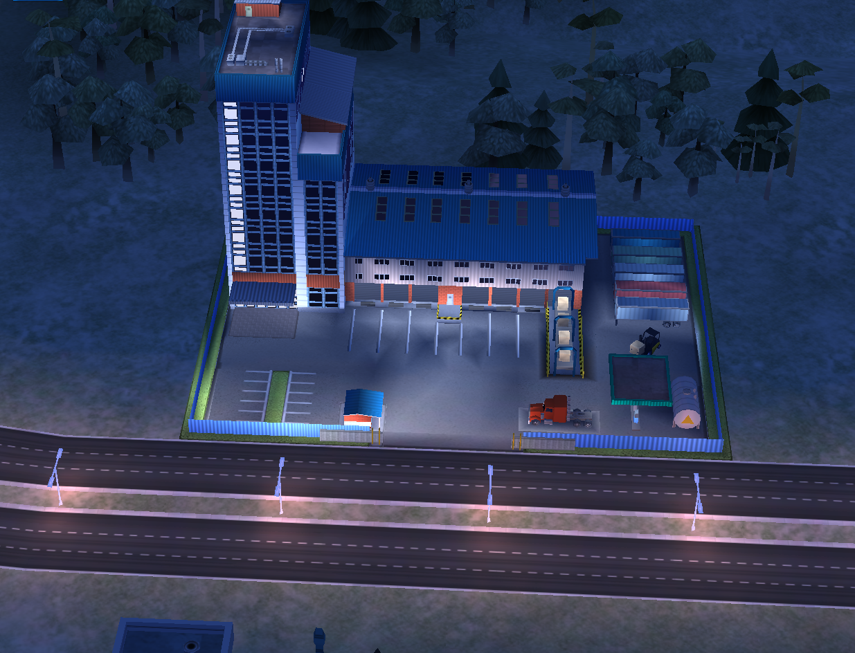 Trade Depot Building in SimCity BuildIt Mobile Game