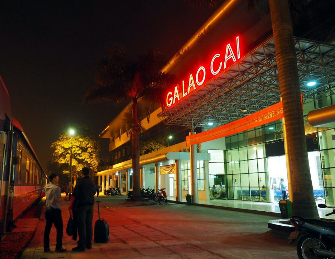 Estación de tren de Lao Cai, Sapa (Vietnam)