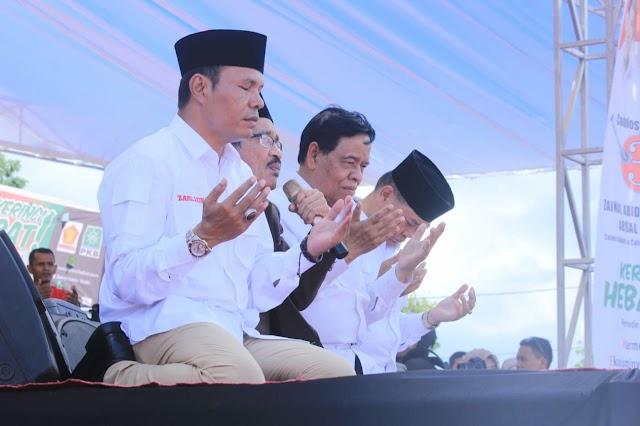 Jelang Pencoblosan, Ini Kata Cabup Zainal Abidin
