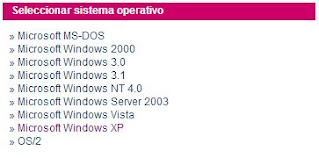 Seleccionar los driver compatibles con el sistema operativo que esté utilizando.