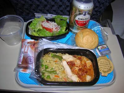 Cena American Airlines Miami - Lima, La vuelta al mundo de Asun y Ricardo, round the world, mundoporlibre.com
