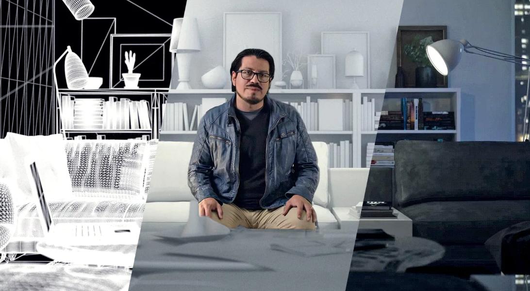 Curso MEGA Creación de imágenes 3D fotorrealistas (Domestika)