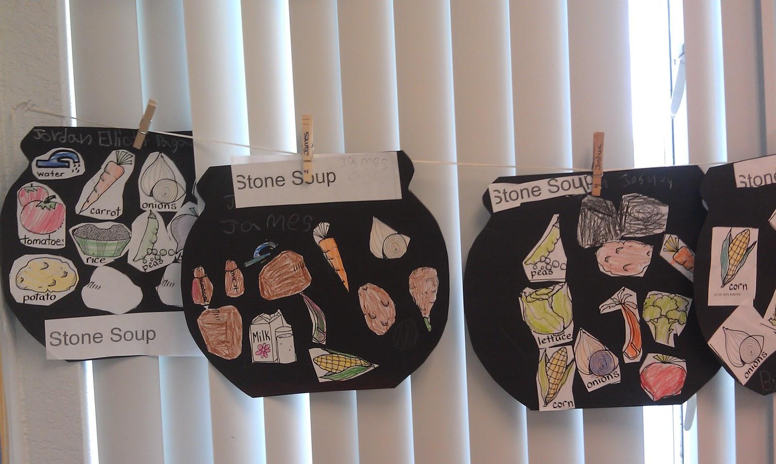 Tales Of A First Grade Teacher Stone Soup
