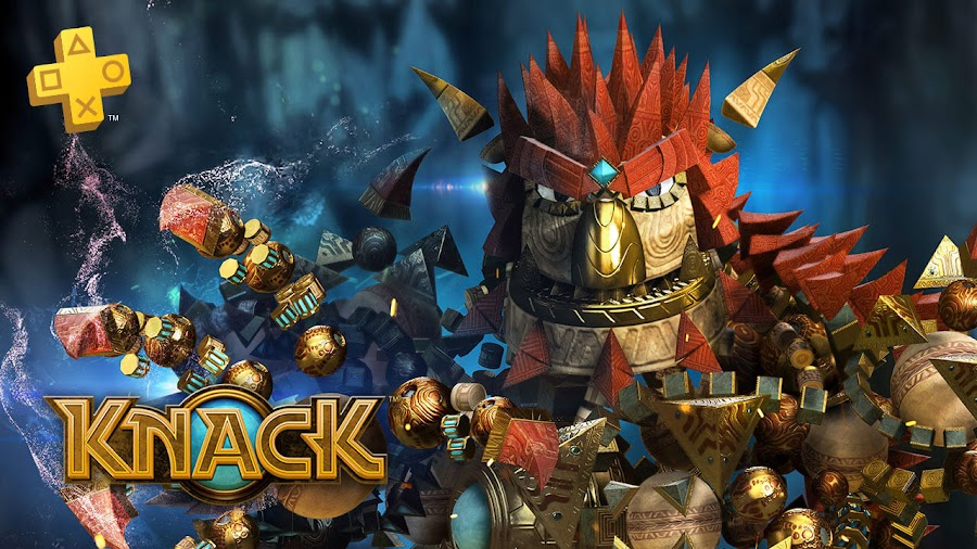 knack playstation plus
