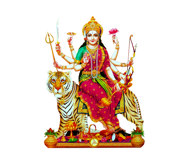 Indian God and Goddess Vector png wallpapes for free Goddess Durga matha 1080p images for free