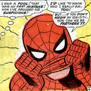 Amazing Spider-Man #56, john romita, suffering from amnesia, spider-man almost removes his mask in front of doctor octopus