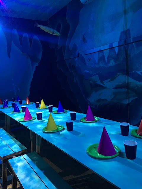 party room at Flip Out, Brent Cross #review