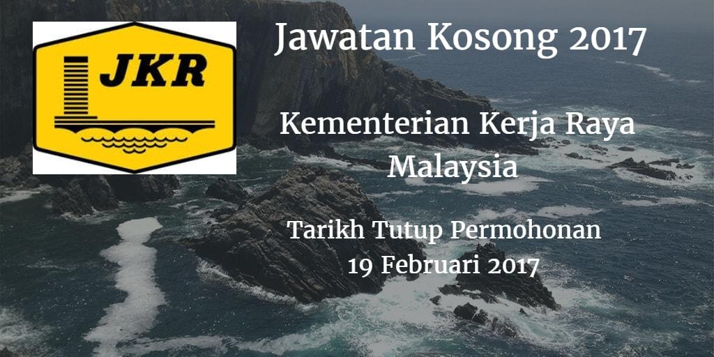 Jawatan Kosong KKR 19 Februari 2017