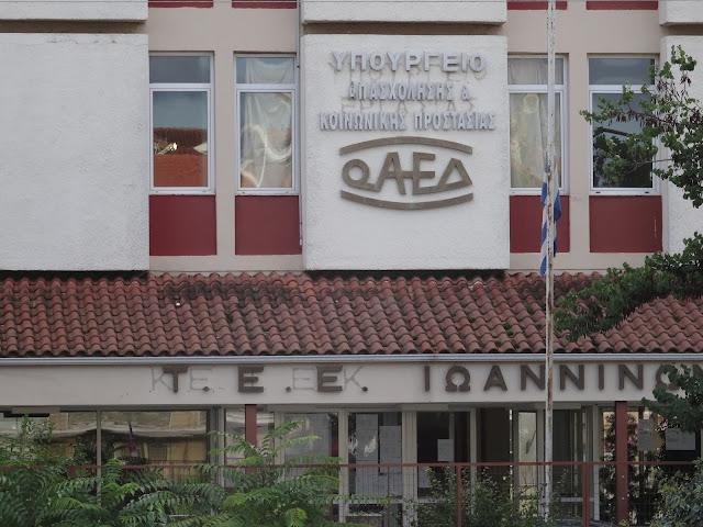 Γιάννενα: Προκήρυξη προγραμμάτων του ΟΑΕΔ για το Νομό Ιωαννίνων.