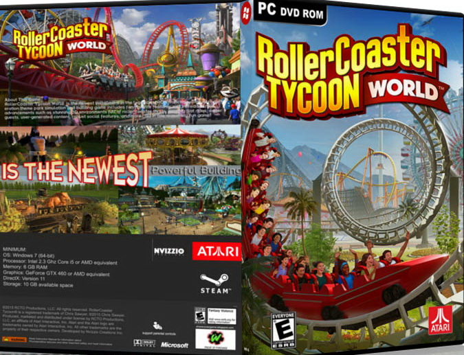WELCOME TO SPYWARE PC SHOP: RollerCoaster Tycoon World