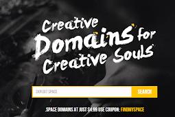 Promo Domain Gratis Terbaru .SPACE dan .TECH 2017