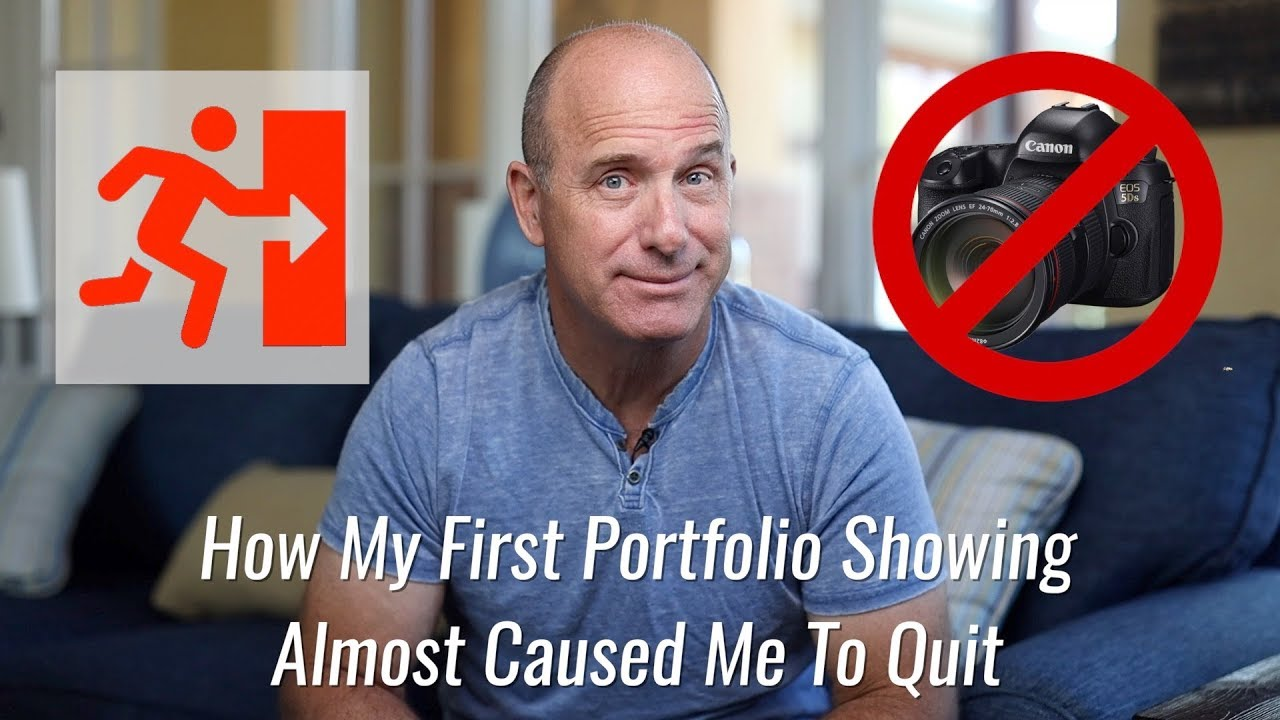 How My First Portfolio Showing Almost Caused Me To Quit by Joel Grimes