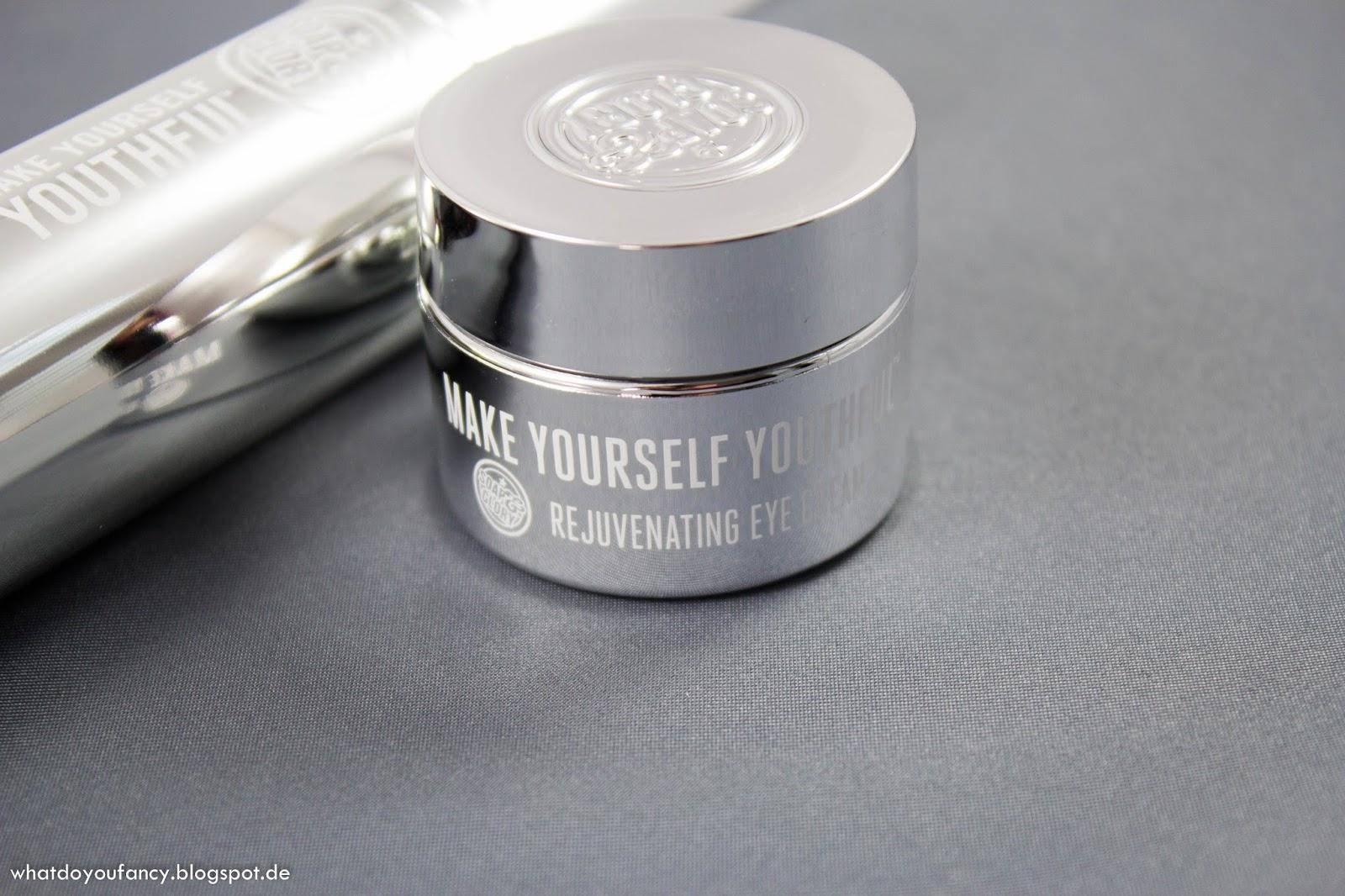 Start des Douglas-Produkttests Soap&Glory Make Yourself Youthful Rejuvenating Eye Cream