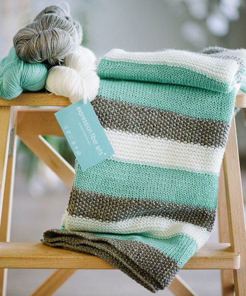 How to Knit a Baby Blanket