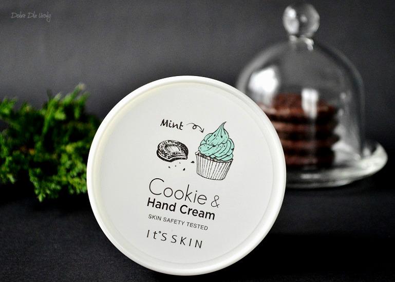 IT'S SKIN Cookie & Hand Cream Mint - Krem do rąk o zapachu Maślanych Ciasteczek z Miętą