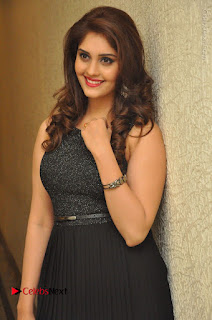 Actress Surabhi Stills in Black Long Dress at turodu Audio Launch  0032.JPG