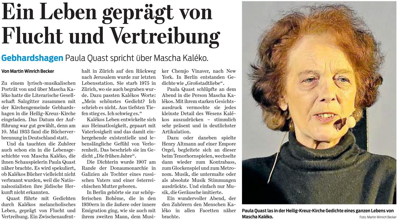 Salzgitter Zeitung Ein Leben Gepragt Von Flucht Und Vertreibung