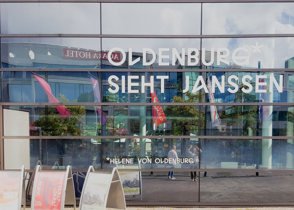 Janssen Revisited - Ausstellung im Horst Janssen Museum Oldenburg  von Helene von Oldenburg