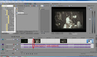 Cara Memotong Video Pada Program Sony Vegas Movie Studio