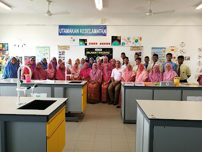 Sesi Peer Coaching bersama guru Sains daripada SMK Sultan Abdul Aziz Shah, Kajang