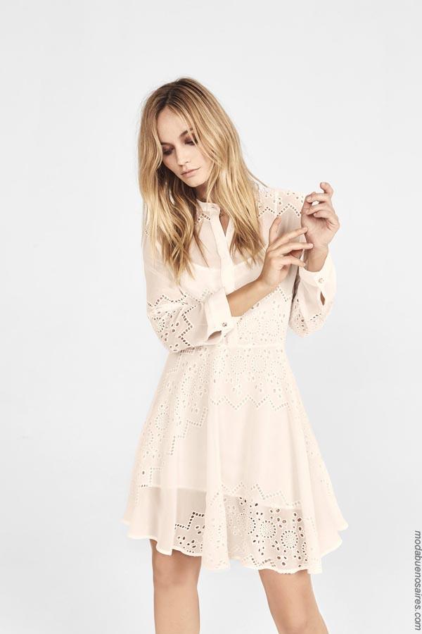 Moda verano 2019 vestidos. Moda primavera verano 2019.