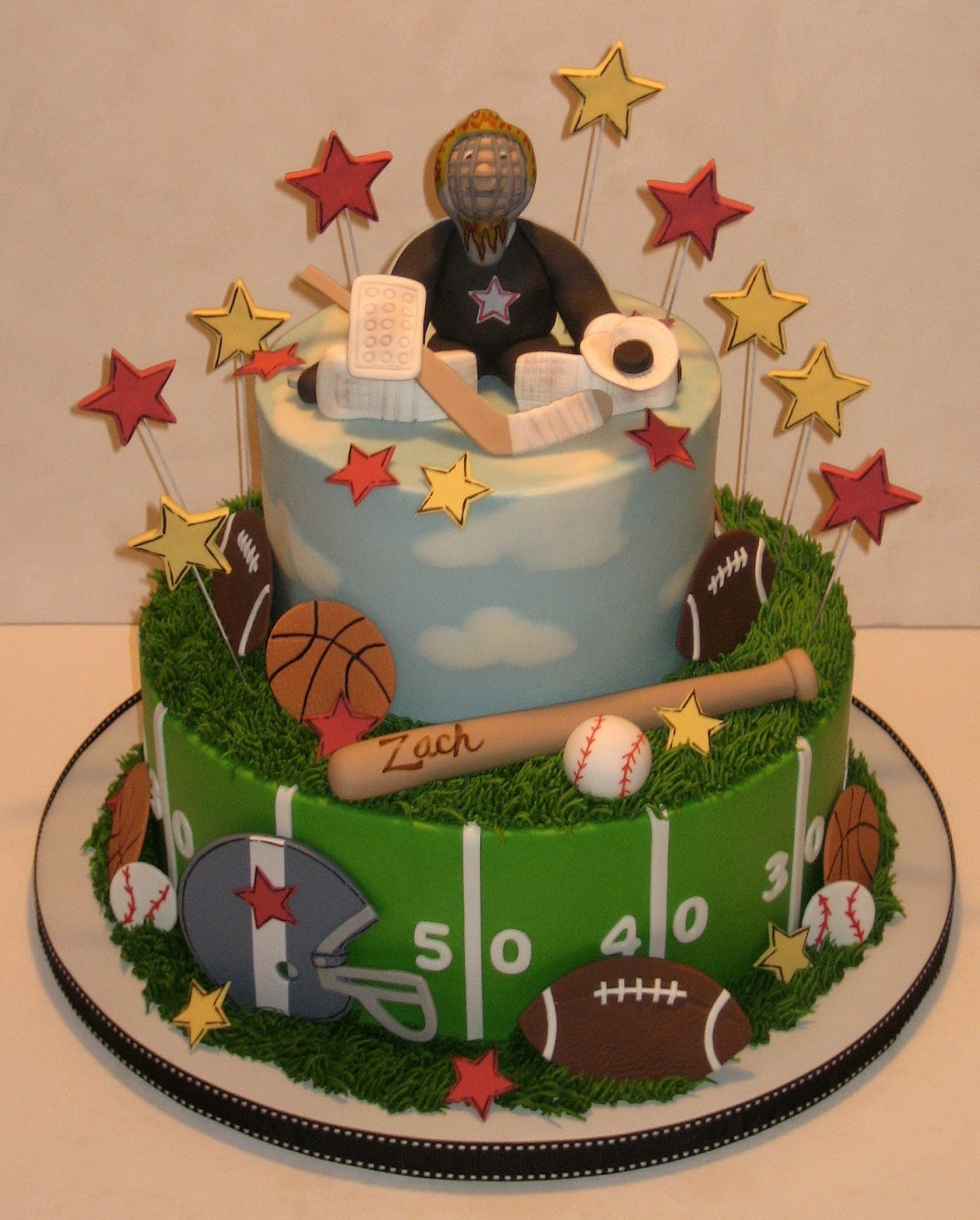 Boys Sports Birthday Cake Ideas And Designs