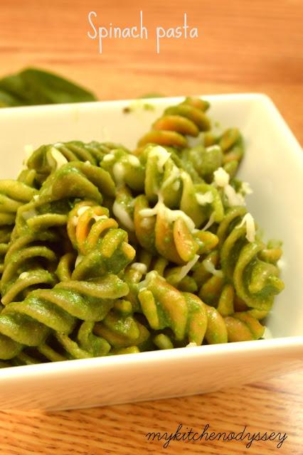 spinach pasta recipe1