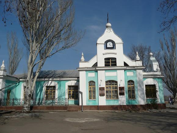 Николаев. Флотский бульвар. Шахматный клуб
