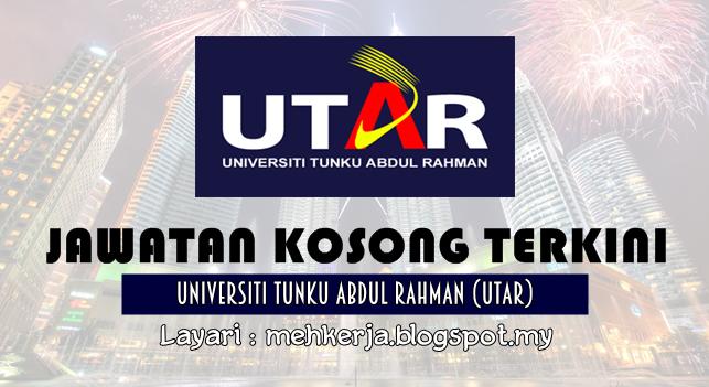 Jawatan Kosong Terkini 2016 di Universiti Tunku Abdul Rahman (UTAR)