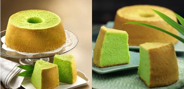 Resep Chiffon Cake Pandan Sederhana