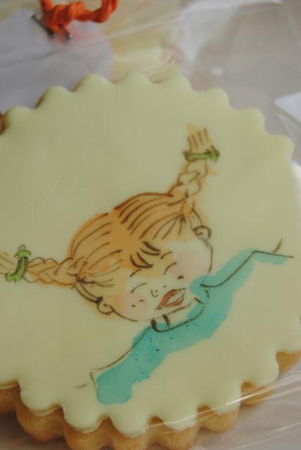 biscotti bomboniera dipinti per un Battesimo
