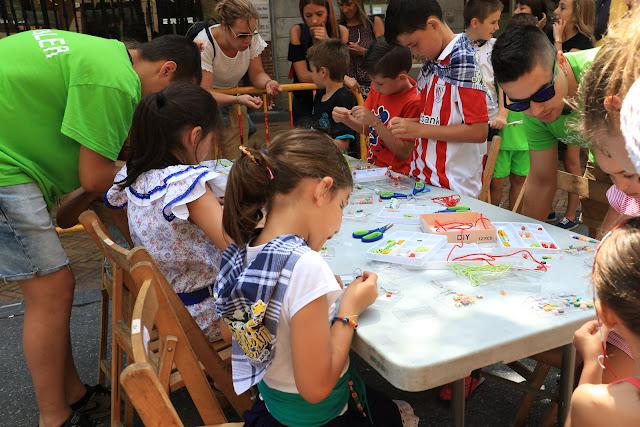Actividades infantiles durante las fiestas del Carmen
