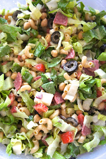 Italian Chopped Salad: Savory Sweet and Satisfying