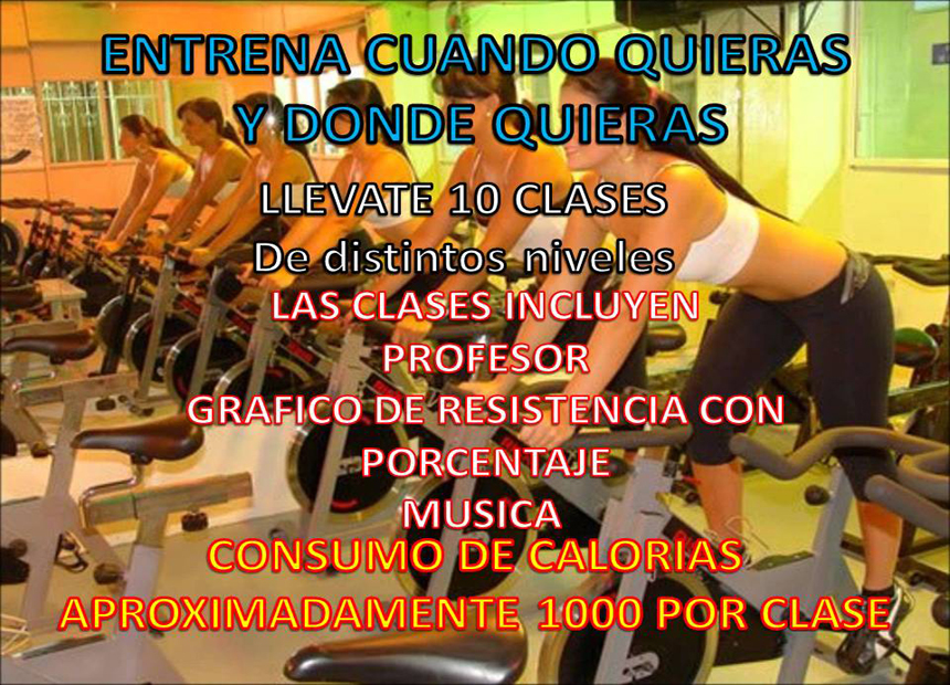Pack 10 clases de spinning videos indoor cycle 230 for Clases de spinning