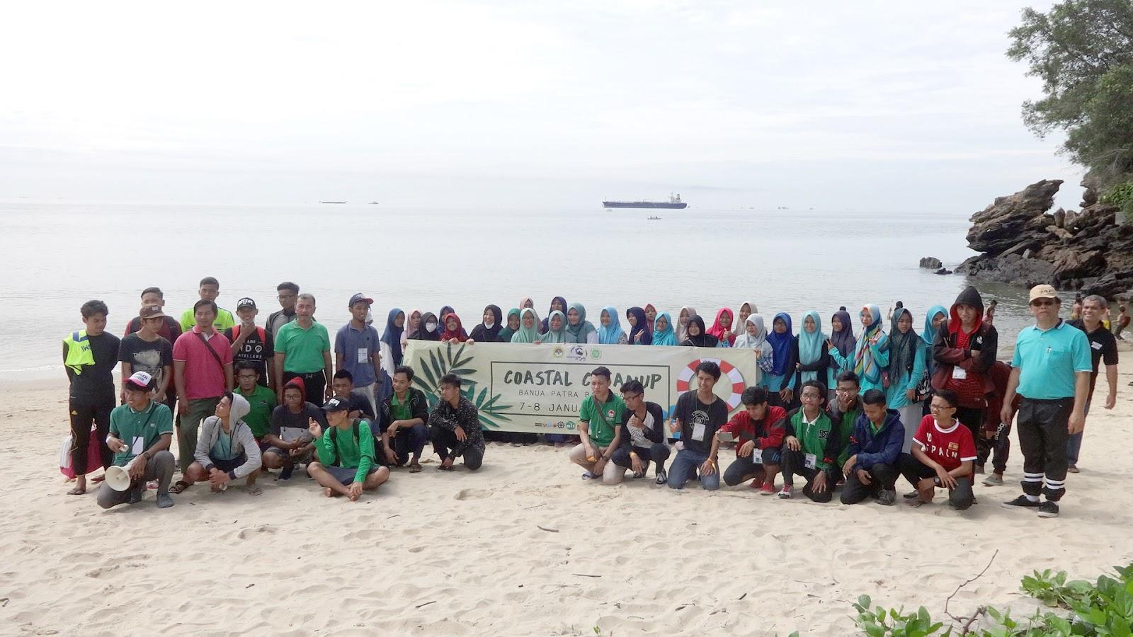 Sayangi Lingkungan, Pemuda LDII Bersih-bersih Pantai