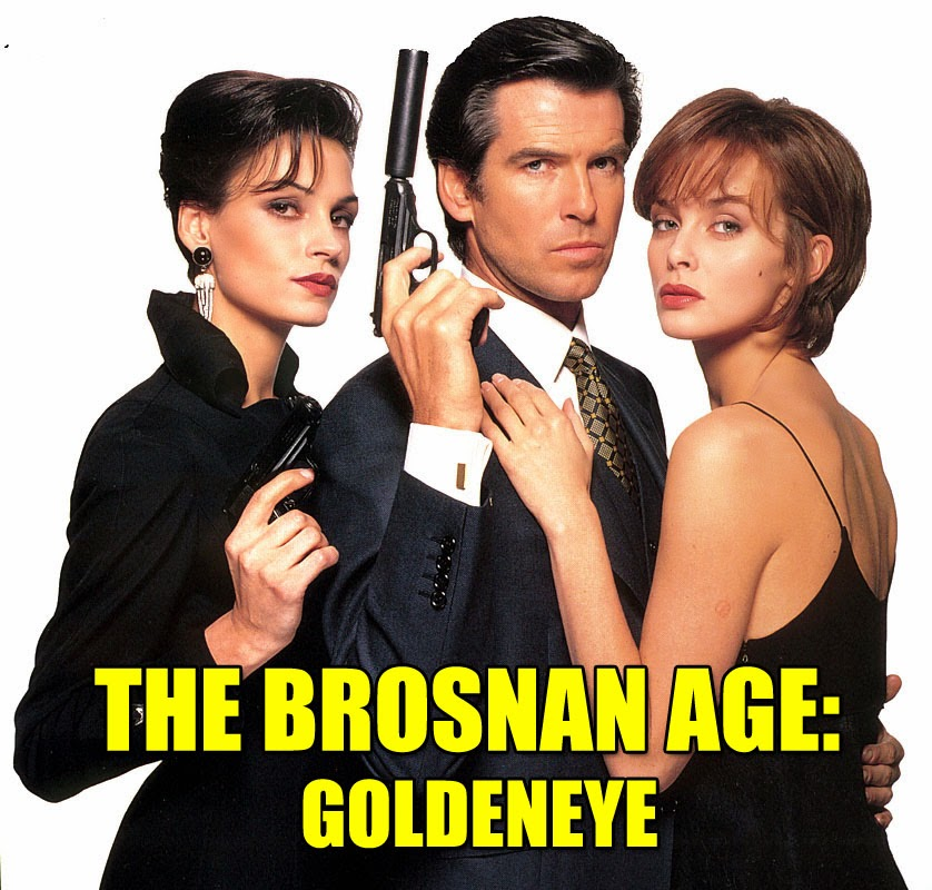 Goldeneye Pierce Brosnan James Bond movie review haphazardstuff