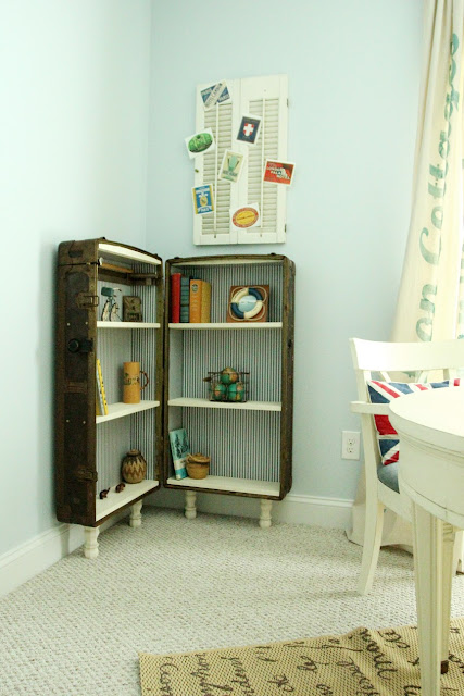 Trunk+bookshelf 8+sm