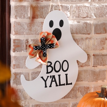 Southern Ghost Halloween Sign