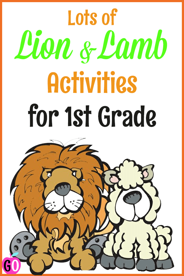 In Like a Lion, Out Like a Lamb: Book Review  and 11 free resources to go along with the book!