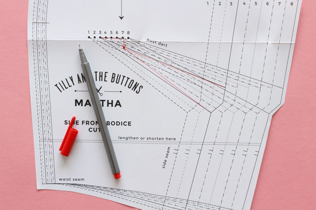 Fitting Adjustments for the Martha Sewing Pattern