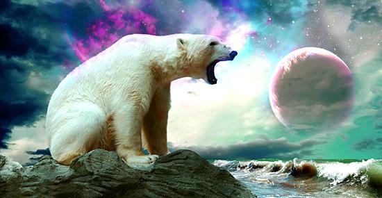 Aliens Ursos Polares